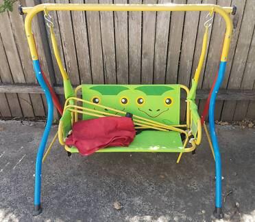 Sommersault 2 Seater Assorted Kids Frog Outdoor Swing Seat