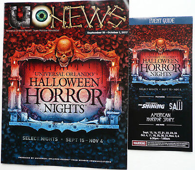 2017 UNIVERSAL SCREAM MEMBER PREVIEW NEWS + EVENT GUIDE HALLOWEEN HORROR NIGHT - Halloween Preview