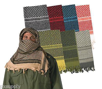 military shemagh heavyweight arab tactical desert keffiyeh scarf rothco 8537