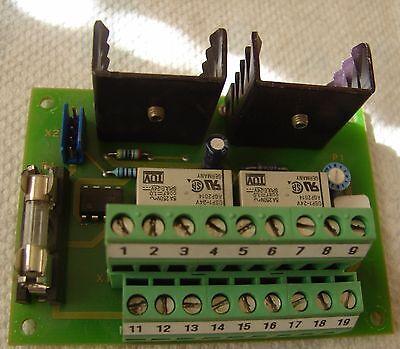 Komax D750a Relay Board D723.a