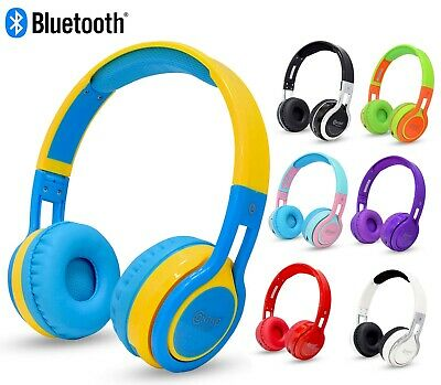 Contixo Kids Best 2020 Bluetooth Wireless Headphones Over Ear Headset