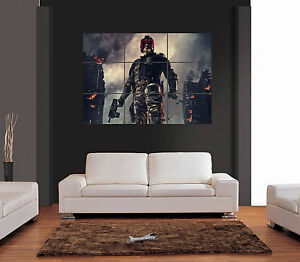 JUDGE DREDD 2012 Vector Giant Wall Art Print Picture Poster