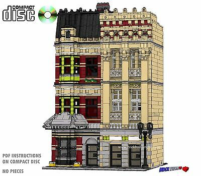 Stickers Lego Custom Arcade Games 7 Instructions city town Star Wars Minifig