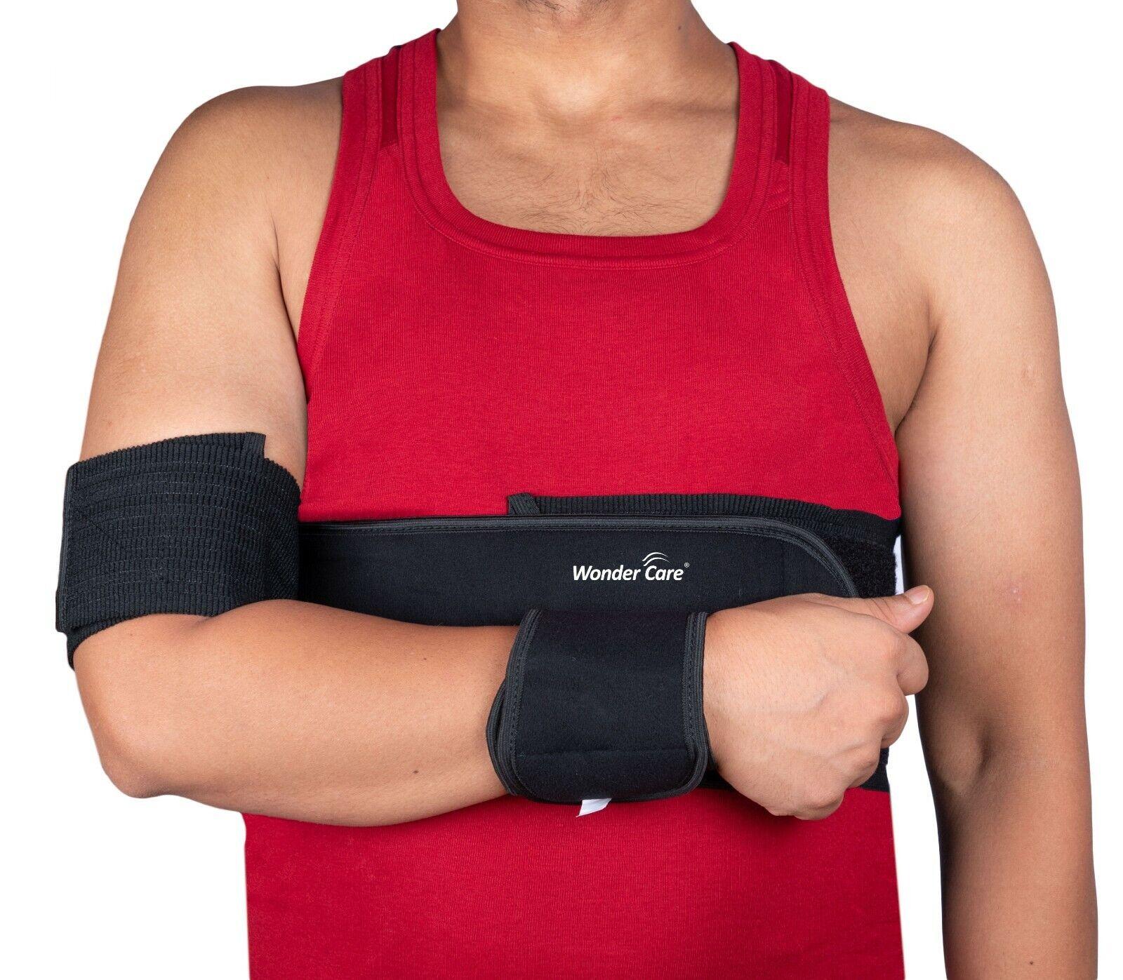 adjustable soft arm sling shoulder immobilizer support