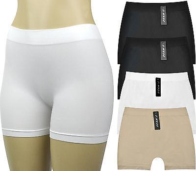 Women's Seamless Boyshorts Underwear Panties Underskirt Shorts (Value Pack of - Boyshort Underwear