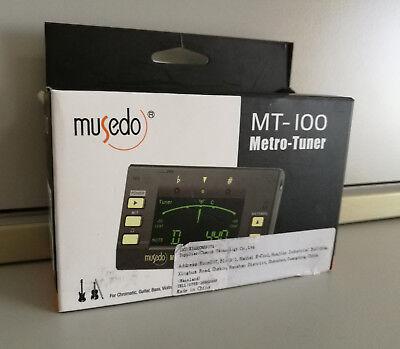 MT-100 Metro-Tuner Gitarre Bass Violine u.a. Neu OVP