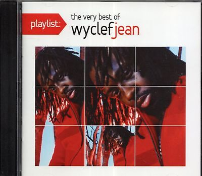 Wyclef Jean The Very Best Of Wyclef Jean CD Gift IDEA Greatest hits