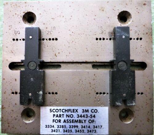 3M Scotchflex 3443-54 Press Locator Plate For Ribbon Cable Socket Connectors