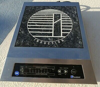 Iwatani Us-9000 Low Profile Tabletop 1800w Induction Stove Commercial Grade