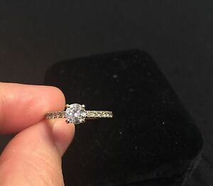 18K WHITE GOLD ENGAGEMENT RING -- Best Price--  Cambridge Kitchener Area image 6