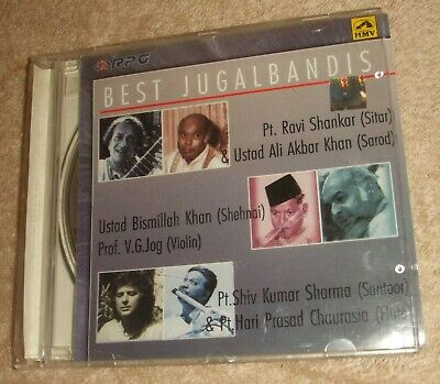 Indian Classical Music CD - Best Jugalbandis (Instrumental) Inc Ravi