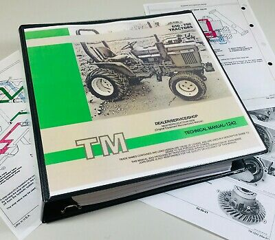 650 750 John Deere Tractor Technical Service Shop Repair Manual 800 Pages