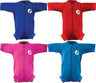 Neugeborenes 0 - 12 Ultimative Baby Schwimmen Badeanzug Neoprenanzug Säugling
