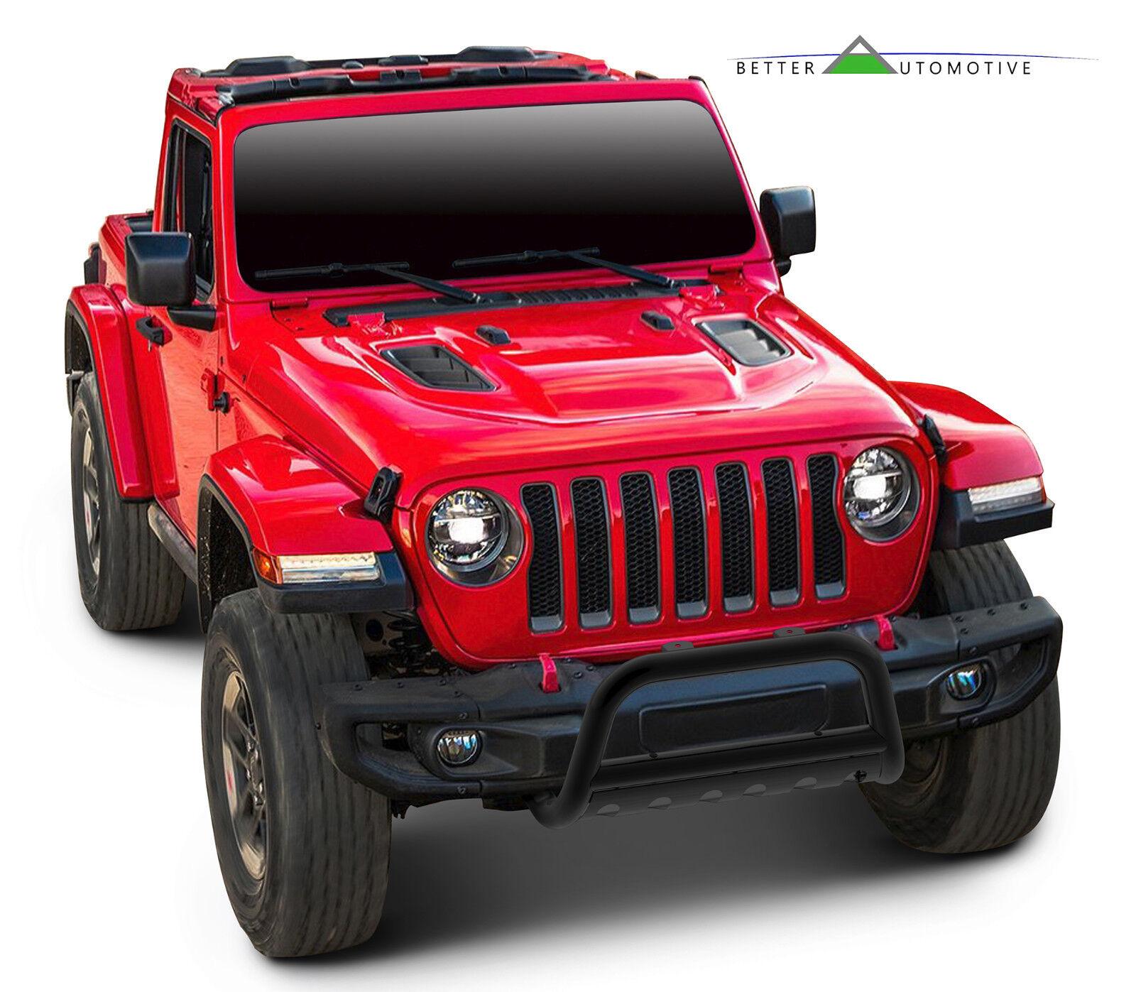 "3"" Bull Bar For Jeep 2018-2019 Wrangler JL/2020 Gladiator"