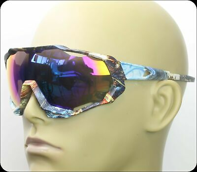 Ski Snowboard Sunglasses Oversized Visor Wrap Shield Large Mirror Women (Mirrored Shield Sunglasses)