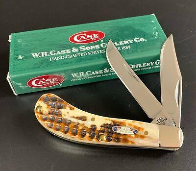 2004 CASE XX HONEY BROWN BONE TB62110 TONY BOSE SADDLEHORN POCKET KNIFE NOS