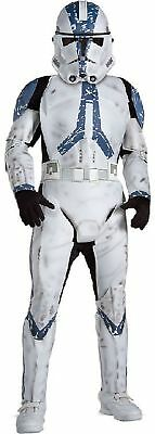 Rub - Star Wars Deluxe Clone Trooper Kinder Kostüm Karneval ()