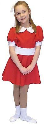 � Rot Kostüm Outfit Alle Größen (Annie Roten Kleid)