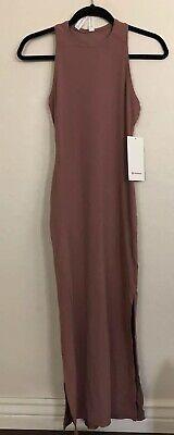 NWT Lululemon Size 6 Get Going Dress REDU Red Dust Mauve $118