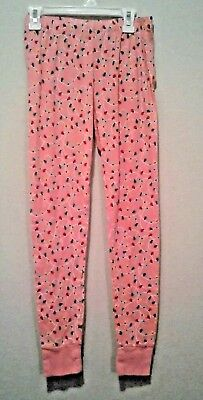 Gap Kids Size 14 Girls Pink Christmas Lights Pajama Sleep Pants](Girls Size 14 Christmas Pajamas)