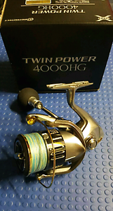 Shimano Twin Power 4000 HG Fishing Reel. 15lb Powerpro Braid Wollongong Wollongong Area Preview