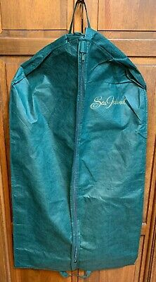 "Green Island Resort (Sea Island Resort Green Fabric Zipper Garment Suit Bag Georgia GA 41.5"" x 24"")"