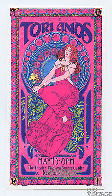 Tori Amos Madison Square Garden 1996 May 13 Handbill Bob Masse