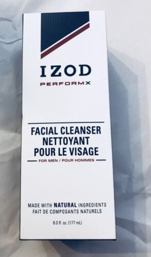 New IZOD PerformX Mens Facial Cleanser 6.0oz Natural Ingredients MEN BOY - $19.99