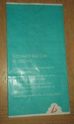 Brussels Airlines: Sick Bag new, unused