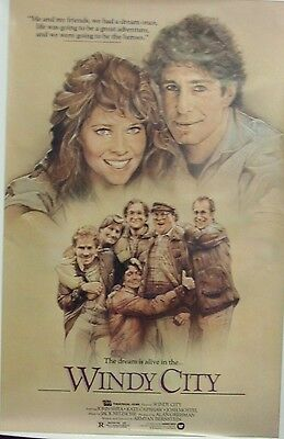 Windy City Original Single Sided Movie Poster John Shea Kate Capshaw 1984 L@@K](Windy City Movie)