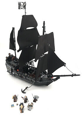 LEGO Pirates Of The Caribbean 4184 The Black Pearl 99% Complete