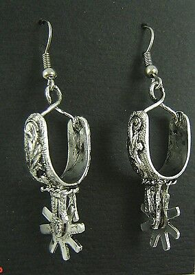 Spur Silver Earrings