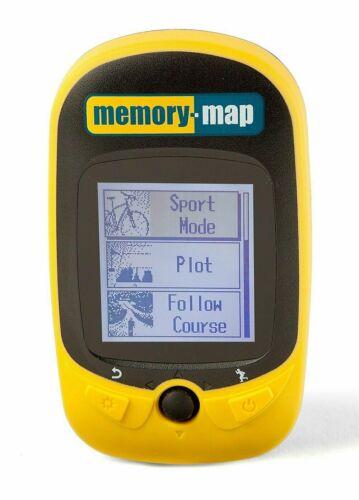 Memory Map 270 Bike Cyclist Running GPS Tracker, Waterproof, Rugged, Lightweight