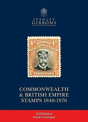 Stanley Gibbons Commonwealth 1840 - 1970 catalogue 2020