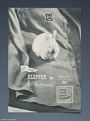 Prospekt KLEPPER der wandelbare um 1952