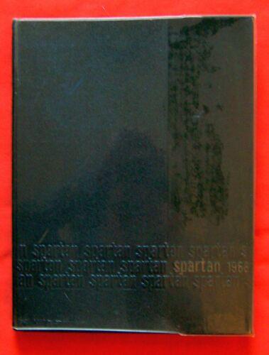 "1968 SOONER HIGH SCHOOL YEARBOOK ""Spartan"" Bartlesville,Oklahoma FINE+ UNSIGNED"