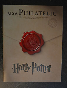 2014-USA-Philatelic-Harry-Potter-Cover-Volume-19-Quarter-1-magazine-brochure
