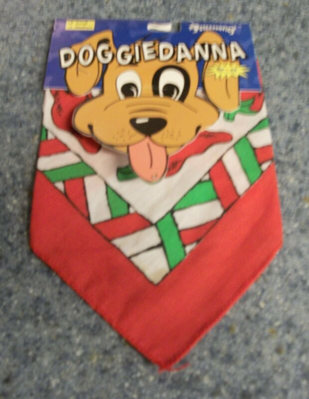 Brand New Doggiedanna Hot Peppers Design Dog Bandana For Dog Rescue Charity