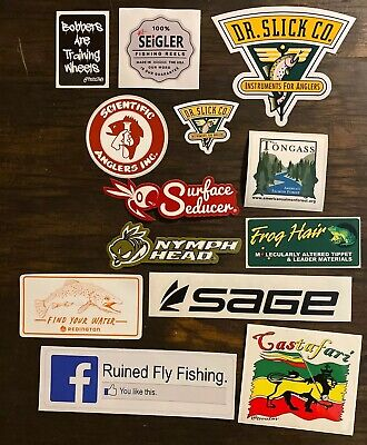 """Catch /& Release Sticker Decal And 5.5/"""" DIE CUT Fishing Trout Fly Simms Sage XO"""