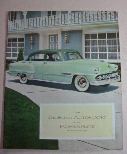 1954 De Soto Brochure