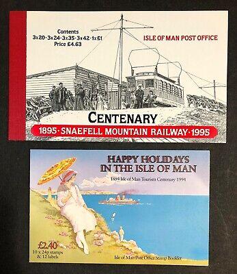 Isle of Man SB39 & Happy Holidays Booklets MNH