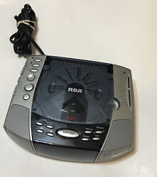RCA RP4896A - AM/FM STEREO Clock Radio with CD Player  Dual Alarm Tested