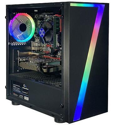 Computer Games - XUM Gaming PC Computer Intel i7 16GB RAM 512GB M.2 NVMe SSD 2TB HDD GT 710 2G