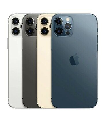 Apple iPhone 12 PRO MAX - 256GB - Pazifikblau - NEU & OVP OHNE VERTRAG