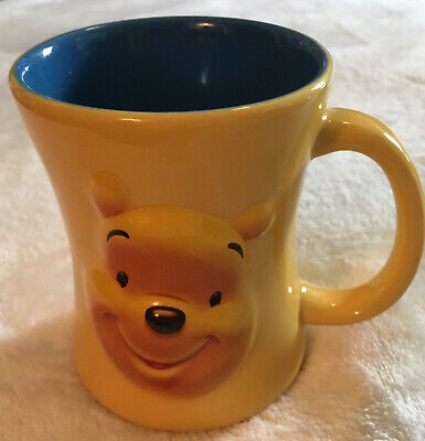 Authentic Disney Store Exclusive Winnie The Pooh Coffee Mug Huggably Pooh 12oz