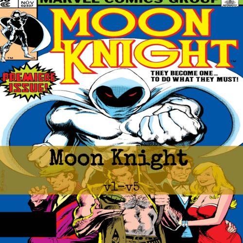 Moon Knight Vol 1 - Vol 5 Extras