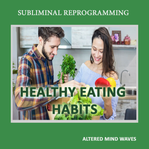 Healthy Eating Habits Subliminal Weight Loss - Subliminal Hypnosis CD