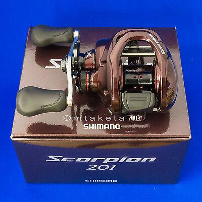 Shimano 14 Scorpion 201 Left Hand Baitcasting Reel 032249