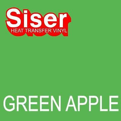 15 X 5 Ft Roll - Green Apple - Siser Easyweed Heat Transfer Vinyl Iron On - Htv