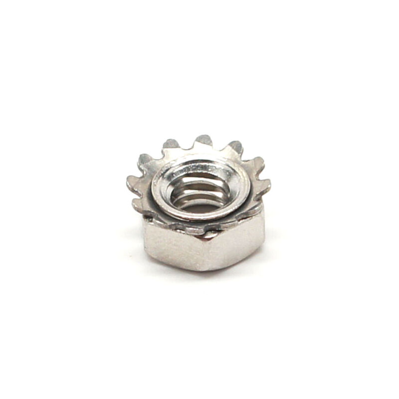 """1/4""""-20 Keps Nut - Stainless Steel - Select Your Quantity - Wholesale Available"""